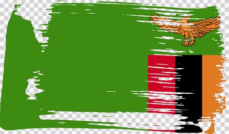 Grounge-styled flag, vector illustration Foto de archivo - 124971645