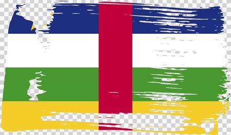 Grounge-styled flag, vector illustration Foto de archivo - 124971679