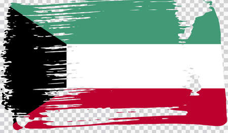 Grounge-styled flag, vector illustration Foto de archivo - 124971690