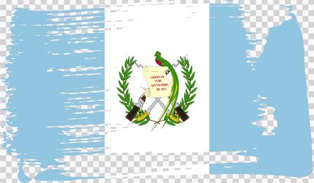 Realistic flag, vector illustration Ilustrace
