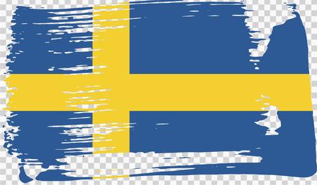 Realistic flag, vector illustration Foto de archivo - 124971701