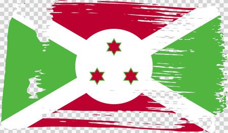 Grounge-styled flag, vector illustration Foto de archivo - 124971706