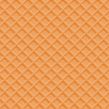 Realistic waffle background