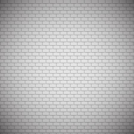 Realistyczny, szczegółowy wzór ceglanego muru, ilustracji wektorowych