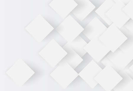 White abstract background with slight shadows, vector illustration 写真素材 - 153223182