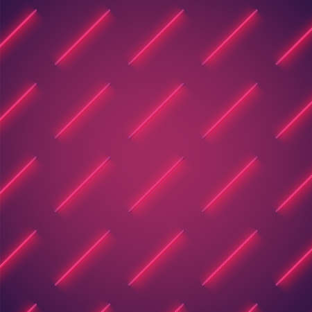 Realistic colorful neon tube background, vector illustration 矢量图像