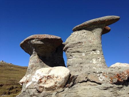 strange mountain: Strange mountain rocks.
