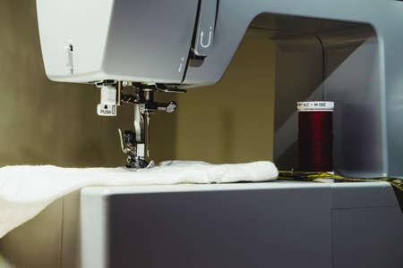 Gray sewing machine