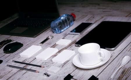 botle: Mockup business template. High resolution. 3D reander