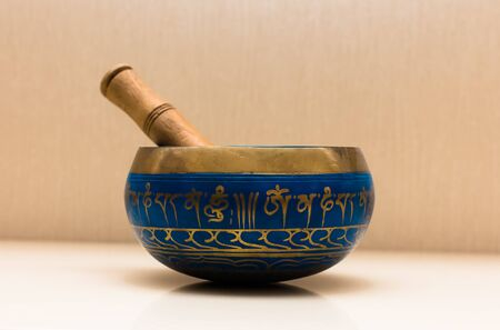 spirituality therapy: Tibetan singing bowl