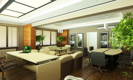 modern office design photo