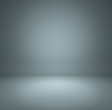 gray blue gradient abstract background rendering for display or montage your products