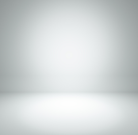 to white: white grey gradient abstract background rendering for display or montage your products Stock Photo