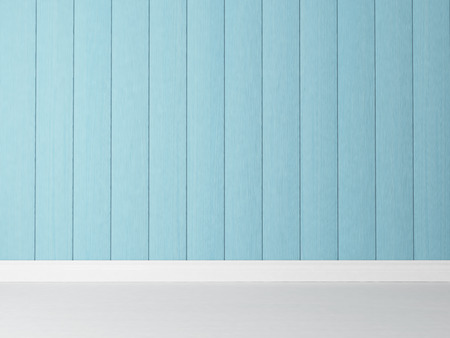 painted vertiical  blue wooden rendering wall background for your design