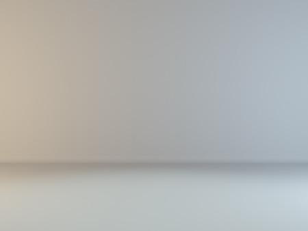 llanura: blanco gris escena emty iluminación interior para su producto representación 3D Foto de archivo