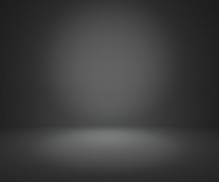 어두운 회색 그라데이션 추상적 인 배경 귀하의 제품을 표시 렌더링 또는 몽타주