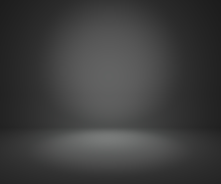 isolated on grey: dark gray gradient abstract background rendering for display or montage your products