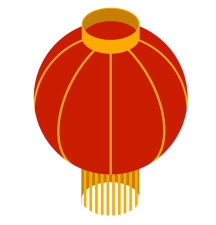 cerulean: chinese lantern isometric