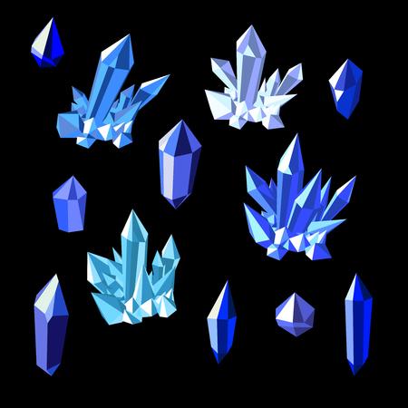 topaz: Topaz crystals Illustration