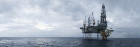 plataforma: plataforma en el mar del sur de China durante la ma�ana