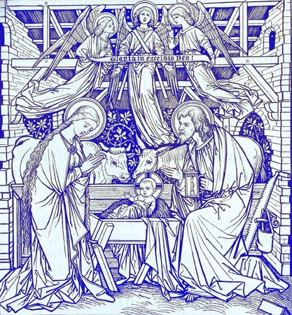 christmas from old book