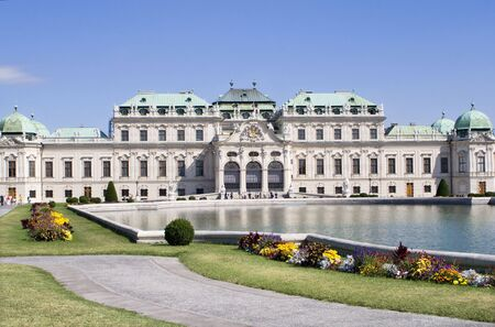 the monarchy: belvedere palace - vienna