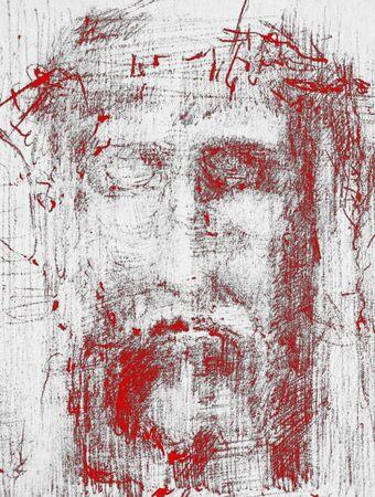 �pines: visage du Christ