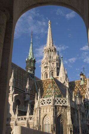christendom: cathedral in Budapest