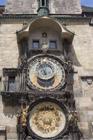 religiosity: tower-clock - prague