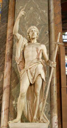 statuary: Rome - John the Baptist from Santa Maria sopra Minerva church