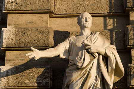 statuary: Cicero - Rome - statue for Justice palace