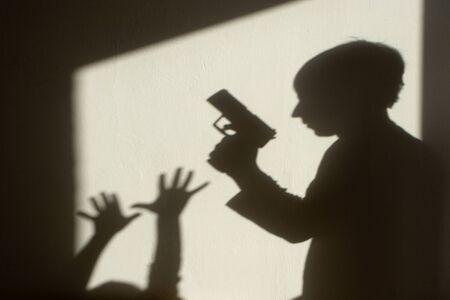 shadow of crime Stock Photo - 9684739