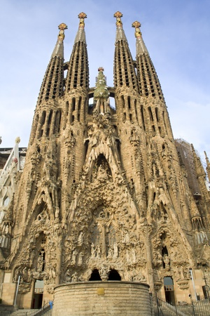 Barcelona - cathedral Sagrada la Familia