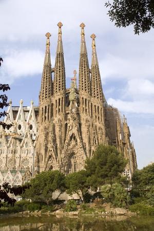 la:  Barcelona - Kathedrale Sagrada la Familia