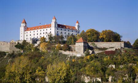 Castello di Bratislava Archivio Fotografico - 9697666