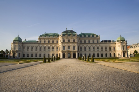 Vienna - Belvedere palace in morning