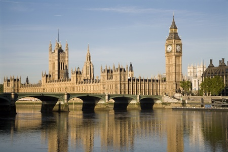 London - parliament in morning light  Stock Photo - 9697406
