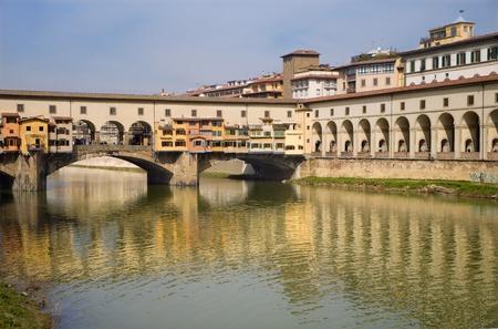 ponte vecchio:  Florence - Ponte Vecchio bridge  Stock Photo