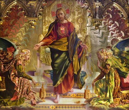 Jezus:  Jezus z Siena Kościół st. Francis  Publikacyjne