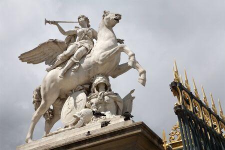 statuary: Paris - statue of Renommee from Tuileries garden