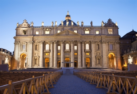st  peter s  basilica:  Rome st  Peter s basilica Stock Photo