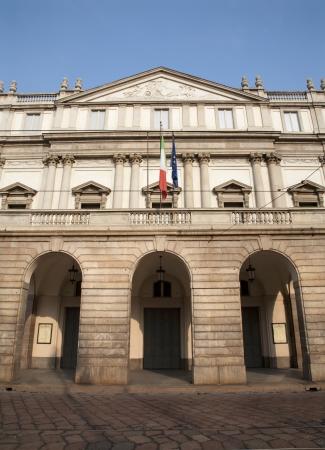scala:  Milan - La Scala theater