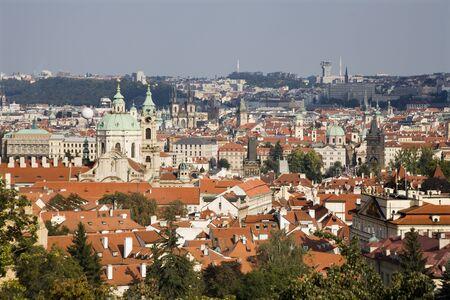 notability:  Prague - st  Nicholas church and the town