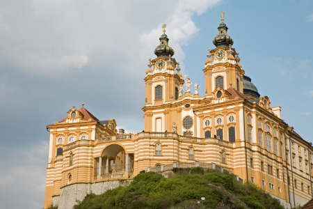 religiosity:  Melk - baroque closister from Austria