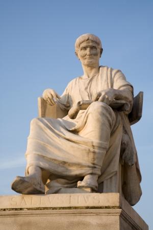 politican:  Vienna - rome historian Salustius statue for the parliament  Stock Photo