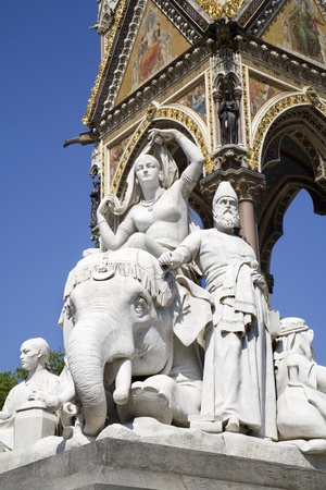 London - Prince albert memorial - Africa statue  Stock Photo - 15171086