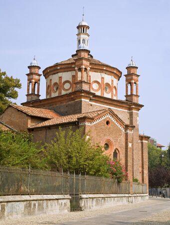 cappella: Milan - Cappella Portinari Foto de archivo