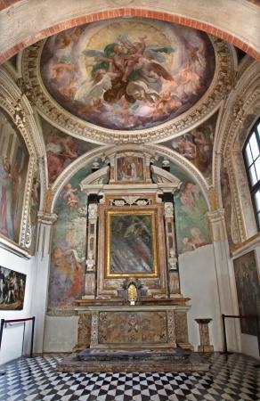 cappella: Milano - interior de Cappella Portinari
