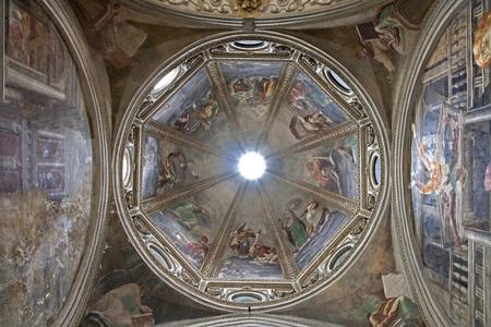 cappella: Milano - c�pula de Cappella Fopa - San Marcos iglesia por Paolo Lomazzo 1571, Profetas y Sibilas Editorial