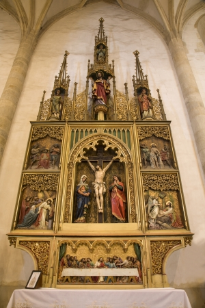 Bratislava - gothic altar from st  Martins cathedral  photo
